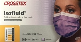 Crosstex Isofluid Face Mask Lavender GCILV G.M. Collin Sea C Spa Professional 4 Applications